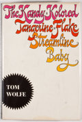 Books:First Editions, Tom Wolfe. The Kandy-Kolored Tangerine-Flake StreamlineBaby. [New York: Farrar, Straus and Giroux, 1965]. First...