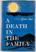 Books:First Editions, James Agee. A Death in the Family. New York: McDowell,Obolensky, [1957]. First edition, first issue, with title...