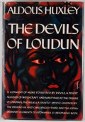 Books:First Editions, Aldous Huxley. The Devils of Loudun. [New York]: Harper& Brothers, [1952]. First edition. Octavo. Publisher's bindi...