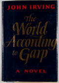 Books:Signed Editions, John Irving. SIGNED. The World According to Garp. New York:E. P. Dutton, [1978]. First edition, first printing. S...