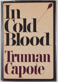 Books:First Editions, Truman Capote. In Cold Blood. New York: Random House,[1965]. First edition, first printing. Octavo. Publisher's bin...