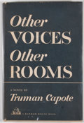 Books:First Editions, Truman Capote. Other Voices, Other Rooms. New York: RandomHouse, [1948]. First edition, first printing. Octavo. Pub...