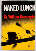 Books:First Editions, William S. Burroughs. Naked Lunch. New York: Grove Press,[1959]. First American edition, first printing. Octavo. Pu...