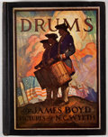 Books:First Editions, [N. C. Wyeth, illustrator]. James Boyd. Drums. New York:Charles Scribner's Sons, [1928]. First illustrated edition....