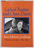 Books:First Editions, Anne Morrow Lindbergh. Locked Rooms and Open Doors: Diaries andLetters 1933-1935. New York: Harcourt Brace Jovanovi...