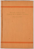 Books:Americana & American History, William A. Owens. Swing and Turn: Texas Play-PartyGames. Dallas: Tardy, 1936. First edition. Octavo.Publisher'...