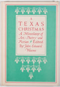 Books:First Editions, John Edward Weems. SIGNED BY JOSE CISNEROS, ILLUSTRATOR. A TexasChristmas. Dallas: Pressworks, [1983]. First editio...