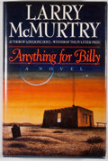 Books:Signed Editions, Larry McMurtry. SIGNED. Anything for Billy. New York: Simon and Schuster, [1988]. First edition, first printing. S...
