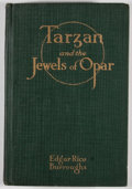 Books:First Editions, Edgar Rice Burroughs. Tarzan and the Jewels of Opar.Chicago: A. C. McClurg, 1918. First edition. Octavo. Publisher'...
