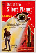 Books:Fiction, C. S. Lewis. Out of the Silent Planet. New York: AvonPublications, [1949]. First mass market edition. Publisher's w...