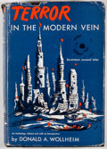 Books:First Editions, Donald Wollheim [editor]. Terror in the Modern Vein. GardenCity: Hanover House, [1955]. First edition. Octavo. Publ...