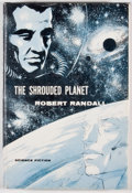 Books:First Editions, Robert Randall [Pseudonym of Robert Silverberg & RandallGarrett]. The Shrouded Planet. First edition. Octavo.Publi...