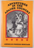 Books:Early Printing, J[ohn] Ross Browne. Adventures in the Apache Country: A Tourthrough Arizona and Sonora. New York: Promontory Press,...