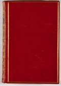 Books:Fiction, Rudyard Kipling. The Jungle Book. London: Macmillan, 1961.Later edition. Octavo. Custom full red leather binding by...