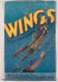 Books:Fiction, John Monk Saunders. Wings. New York: Grosset & Dunlap,[1927]. Photoplay edition. Octavo. Publisher's binding and du...