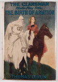 Books:First Editions, Thomas Dixon. The Clansman [The Birth of a Nation].New York: Grosset & Dunlap, [1905]. Photoplay editio...