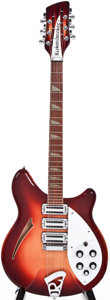 Musical Instruments:Electric Guitars, 1991 Rickenbacker 360/12 Fireglo 12-String Semi-Hollow BodyElectric Guitar, #E48060....