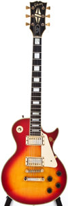 Musical Instruments:Electric Guitars, 1980 Gibson Les Paul Custom Cherry Sunburst Solid Body ElectricGuitar, #83500784....