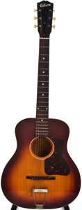 Musical Instruments:Acoustic Guitars, 1932 Gibson L-50 Sunburst Acoustic Guitar, #N/A....