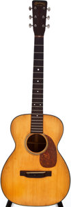 Musical Instruments:Acoustic Guitars, 1957 Martin 0-18 Natural Acoustic Guitar, #155476....
