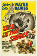 "Movie Posters:Western, Tall in the Saddle (RKO, 1944). One Sheet (27"" X 40.75""). Western....."