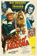 "Movie Posters:Western, Song of Arizona (Republic, 1946). One Sheet (27"" X 41"").. ..."