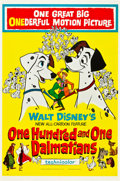 "Movie Posters:Animated, 101 Dalmatians (Buena Vista, 1961). One Sheet (27"" X 41"").. ..."