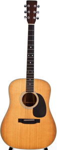 Musical Instruments:Acoustic Guitars, 1970 Martin D-35 Natural Acoustic Guitar, #260443....