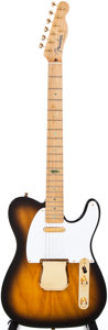 Musical Instruments:Electric Guitars, 1998 Fender Telecaster Sunburst Solid Body Electric Guitar, #0406of 1998....