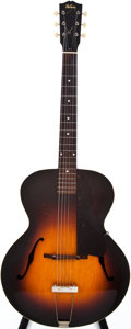 Musical Instruments:Acoustic Guitars, 1938 Gibson L-50 Sunburst Archtop Acoustic Guitar, #DG4334....