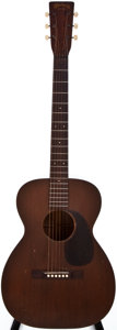 Musical Instruments:Acoustic Guitars, 1943 Martin 0-17 Natural Acoustic Guitar, #84838....