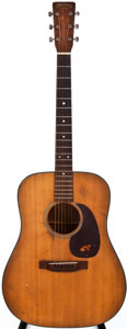 Musical Instruments:Acoustic Guitars, 1951 Martin D-18 Natural Acoustic Guitar, #112771....