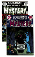 Bronze Age (1970-1979):Horror, House of Mystery #208 and 219 Multiple Copies Group (DC,1972-73).... (Total: 24 Comic Books)