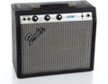 Musical Instruments:Amplifiers, PA, & Effects, 1970s Fender Champ Silverback Guitar Amplifier #A959284...