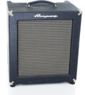 Musical Instruments:Amplifiers, PA, & Effects, Recent Ampeg Rocketbased B-100R Blue Guitar Amplifier #80025...