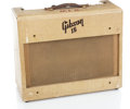 Musical Instruments:Amplifiers, PA, & Effects, 1950s Gibson GA-15 Tan Guitar Amplifier #23373...