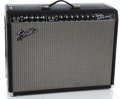 Musical Instruments:Amplifiers, PA, & Effects, Recent Fender Twin Reverb Black Guitar Amplifier #AC019052...