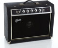 Musical Instruments:Amplifiers, PA, & Effects, 1970s Gibson G-10 Black Guitar Amplifier #G03646...
