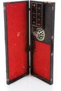 Musical Instruments:Amplifiers, PA, & Effects, 1960s Silvertone Amp Case 1448 Black Amplifier Head #18510010...