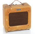 Musical Instruments:Amplifiers, PA, & Effects, 1950s Fender Princeton Tweed Guitar Amplifier #1229...