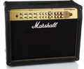 Musical Instruments:Amplifiers, PA, & Effects, 2000 Marshall Valvestate Black Guitar Amplifier #M2001031146B...