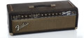 Musical Instruments:Amplifiers, PA, & Effects, 1964 Fender Showman Blackface Guitar Amplifier #NL...