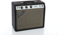 Musical Instruments:Amplifiers, PA, & Effects, 1970s Fender Champ Silverface Guitar Amplifier #A30987...