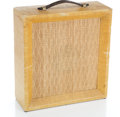 Musical Instruments:Amplifiers, PA, & Effects, 1960s Airline 62-9001B Tweed Guitar Amplifier ...