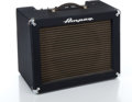 Musical Instruments:Amplifiers, PA, & Effects, 1960s Ampeg Jet J12 Blue Guitar Amplifier #042253...