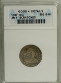 Early Dimes: , 1807 10C --Scratched--ANACS. Good 4 Details. JR-1. NGC Census:(2/231). PCGS Population (5/270). Mintage: 165,000. Numismedi...