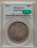 Bust Half Dollars: , 1807 50C Capped Bust, Small Stars Fine 12 PCGS. CAC. PCGSPopulation (6/66). Numismedia Wsl. Price for ...