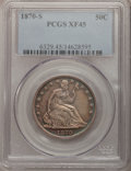 Seated Half Dollars: , 1870-S 50C XF45 PCGS. PCGS Population (4/31). NGC Census: (5/16).Mintage: 1,004,000. Numismedia Wsl. Price for problem fre...