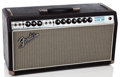 Musical Instruments:Amplifiers, PA, & Effects, 1968 Fender Bandmaster Reverb Silverface Guitar Amplifier#A38892...