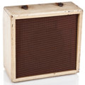 Musical Instruments:Amplifiers, PA, & Effects, 1950s Gibson Skylark White Guitar Amplifier #110077...